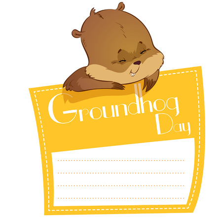 marmot: Card for Groundhog Day