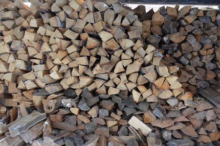 Firewood background.