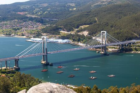Bridge over the sea in Vigo