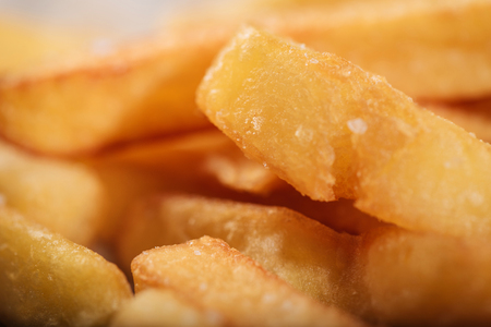 Close up of tasty French fries
