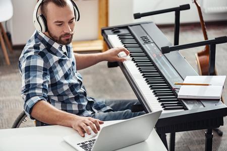 Désactiver le musicien vérifiant le nouveau matériel