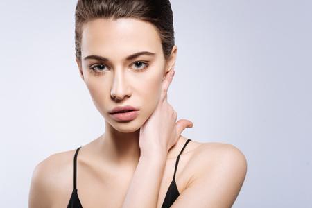 Professional shot of a beautiful model