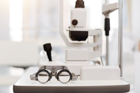 Picture of brand new ophthalmologists equipment