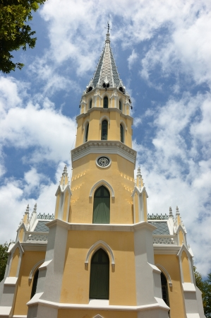 Church Portugal in Ayutthaya, Thailand Stock Photo