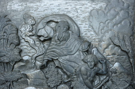 son of god: Christianity sculpture story , God in heaven
