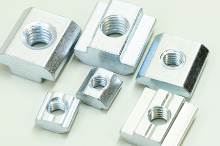 T-Nuts for Aluminum Profiles use with aluminum building kit