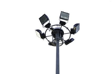 pivotal: Six high outdoor lights
