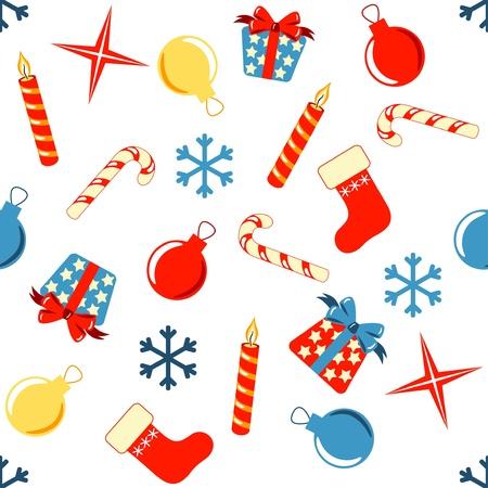 christmas seamless pattern: christmas seamless pattern