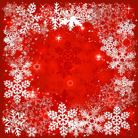 christmas backgrounds: red christmas background
