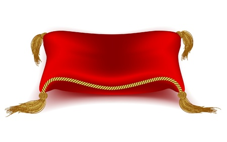 red pillow Stock Vector - 11661477