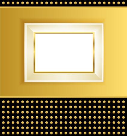 molding: white frame