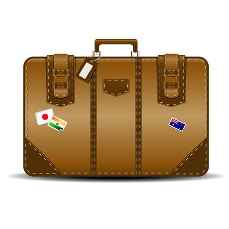 luggage bag: suitcase
