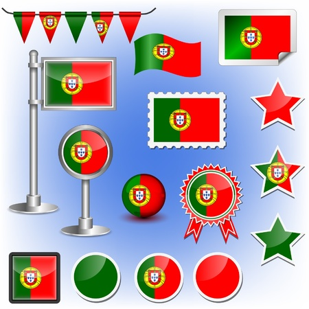 flag of portugal Stock Vector - 11659994