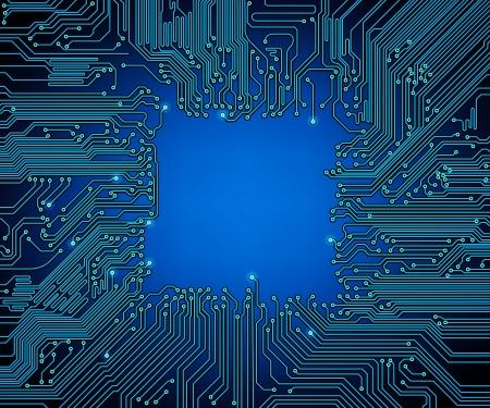 carte de circuit imprimé de fond Vecteurs