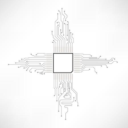 printplaat abstracte element