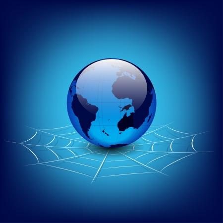 globe in web