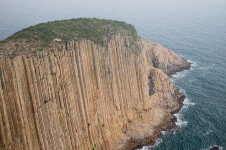acidic: Acidic polygonal volcanic rock columns in Po Pin Chau