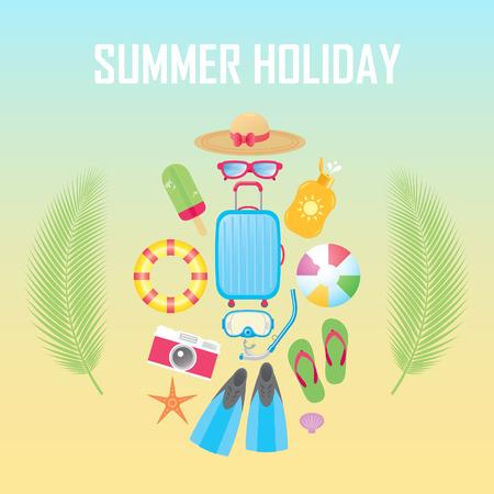 sun block: Summer Holiday