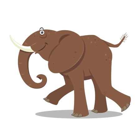 jovial: Cartoon Elephant