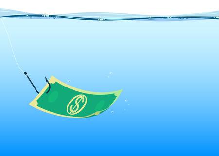 cheated: background fishing money
