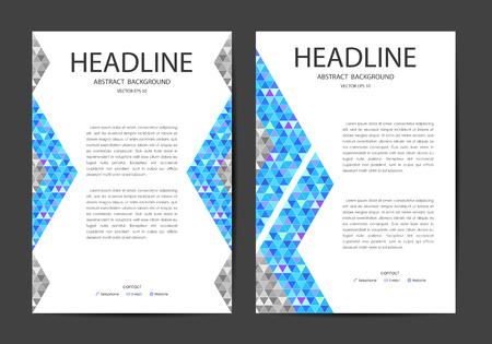 publication: Abstract background, artwork design for publication