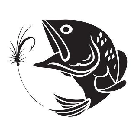 fishing symbol Illustration
