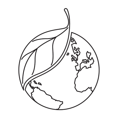 tree line: icon plant and earth