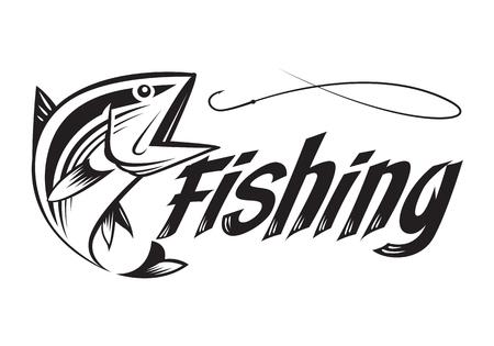 Pêche graphique Banque d'images - 62318309