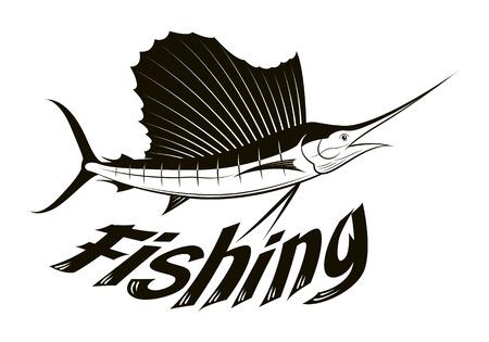 pez vela: pesca gráfico