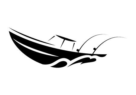 barca da pesca simbolo