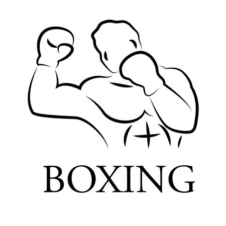 graphic boxer, vector