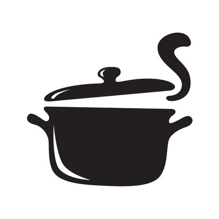 Main dessiner le pot chaud, vector Banque d'images - 82043877