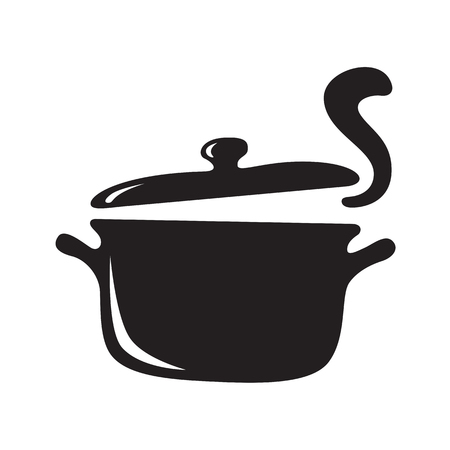 hand draw hot pot, vector