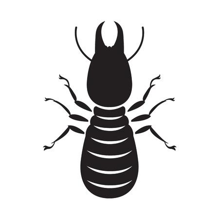 termite: graphic termite, vector