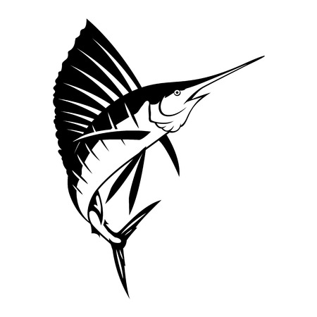Graphic marlin