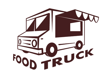 food truck, vector Vector Illustration