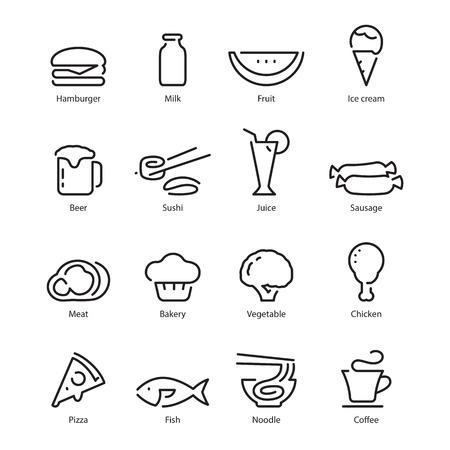 food icon Ilustração