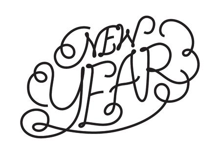 Graphic new year
