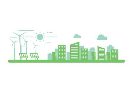 clean energy Ilustração