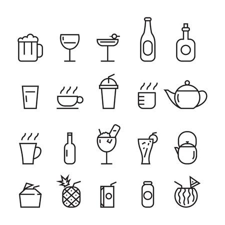 icon beverage Ilustração
