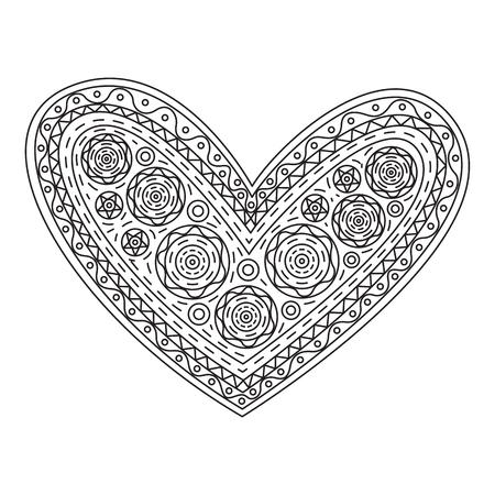 Graphic heart