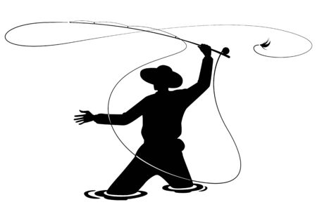 pêcheur graphique