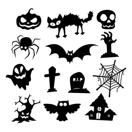 icon halloween Иллюстрация