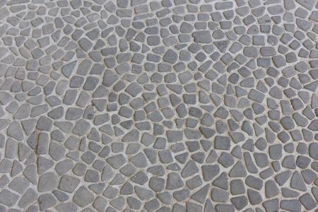 Die Kieselsteinböden und -wand, Hintergrundbeschaffenheiten