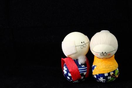 Japan Dolls Stock Photo