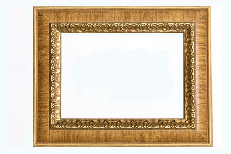 Wood picture frame Stock Photo - 9335350