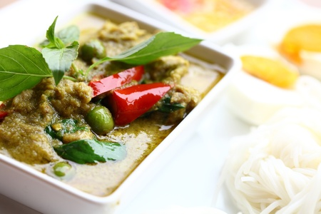 thai pepper: Thai chicken curry