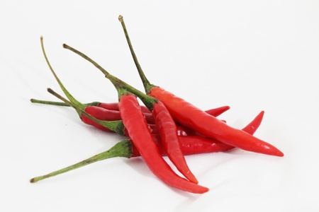 3 4 length: Red chilli Stock Photo