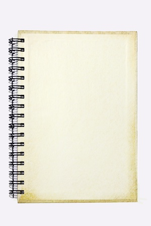Book note on a beautiful white background.