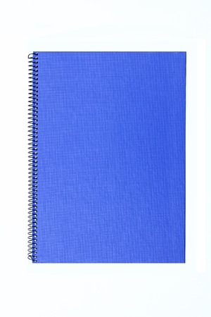 Blue note book Stock Photo - 9501667